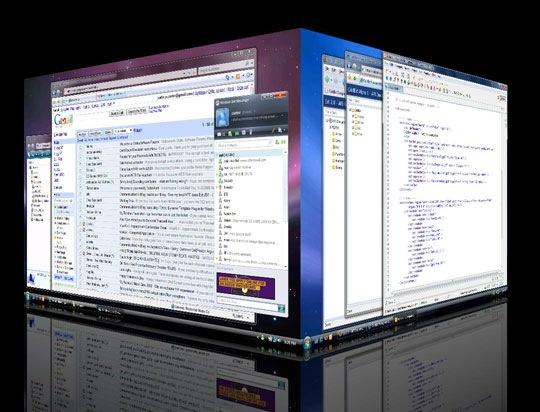 مع deskspace      اجعل سطح مكتبك ثلاثي الابعاد وتمتع بادارته بسهولة